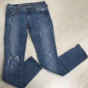 Bullhead Hermosa Super Skinny Distressed Jeans